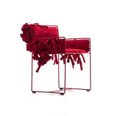 Valentina C small armchair with flower decoration | Chairs | Baleri Italia by Hub Design