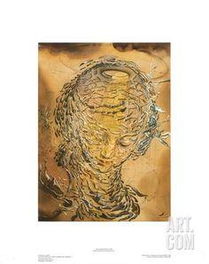 Raphaelesque Head Exploded Giclee Print by Salvador Dalí at Art.com