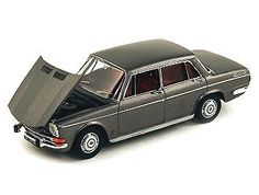 This Simca 1501 (1963) Diecast Model Car is Metallic Grey and features working wheels and also opening bonnet with engine. It is made by Norev and is 1:43 scale (approx. 9cm / 3.5in long).  ...
