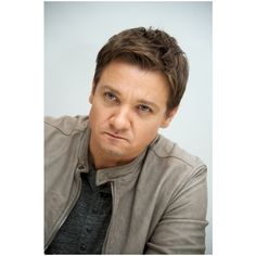 Jeremy Renner because he's worth it ❤ liked on Polyvore featuring jeremy renner and people