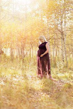 Olivia Maternity Gown / Chiffon Infinity gown / Maternity Gown / Bridesmaid dress / Senior photo shoot / boho dress