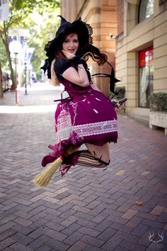 deerstalkerpictures: Annette's witch themed... at The Lolita Witch