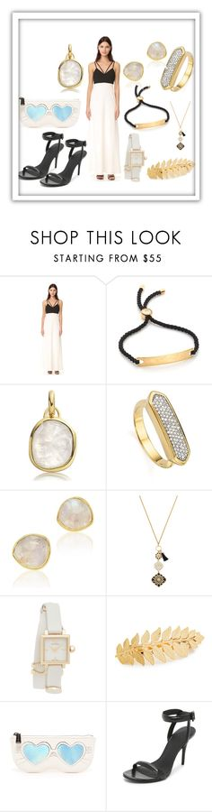 """""""Trendy Attire"""" by paige-brrian ❤ liked on Polyvore featuring Jill by Jill Stuart, Monica Vinader, Kate Spade, Tory Burch, Avigail Adam, Rebecca Minkoff and Alexander Wang"""