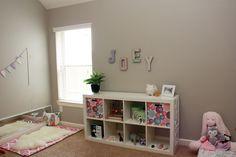 A sweet Montessori inspired nursery
