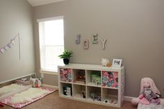 A sweet Montessori inspired nursery