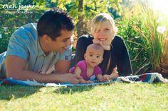 sunny family photography