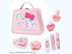 Jewelpet Kids Cosmetic Set Bag Girls Christmas Gift SANRIO JAPAN