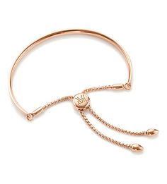 MONICA VINADER Fiji 18ct rose gold-plated chain bracelet (Rose gold
