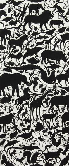 NEW Alexander Henry Fabric  Animal Kingdom by BelloBerryFabricShop, $8.25