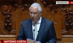 """António Costa diz que Passos Coelho deve """"conformar-se"""" com a nova situação política"""