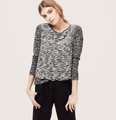 LOFT Petite Lou & Grey Spacedye Sweatshirt, $39.50