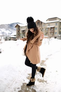 winter time outfit inspiration - the boots and jacket