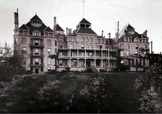 Sleep in the Crescent Hotel Eureka Springs AR - a haunted hotel!!