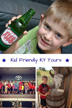 Tour great Central KY places like Ale-8-1, Old KY Chocolates, Toyota, Fort Boonesborough and more!