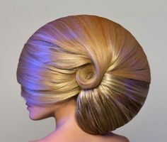 nautilus shell hair......... my favourite shells to look for