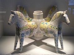 The exhibition of Dala horses in Dalarnas Museum in Falun | Flickr - Photo Sharing!