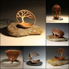 'I am a self taught woodturner who is interested in the development of woodturning as an art form as well as maintaining the highest standards of the craft. My work varies depending on many f…