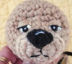 Amigurumi How To Embroider Eyes : 1000+ images about Useful tutorials for knitted toys on ...