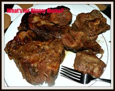 Slow Cooker Bottom Round Steak – What's for Dinner Moms? Bottom Round Steak Recipes, Beef Bottom Round Steak, Beef Round, Easy Steak Recipes, Beef Recipes, Cooking Recipes, Round Steak Marinade, Roast Steak