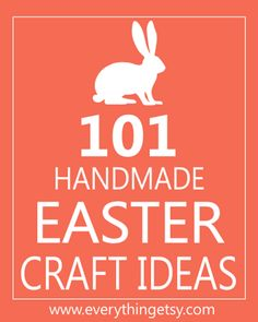 These simple handmade Easter tutorials and free printables will make any crafty person's heart sing with joy!