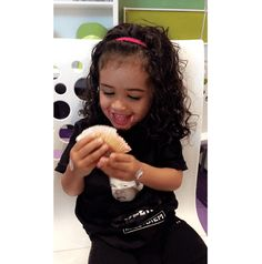 Chris Brown Baby Royalty Is A Fan Of North West On Her Birthday