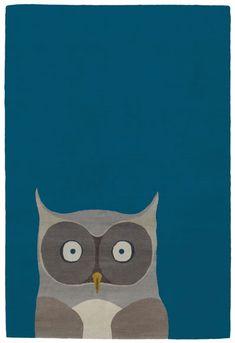 Owl Wool Rug