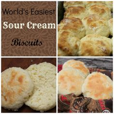 *TRIED good and super easy! Didn't have to cut in butter, which I always hate. * sourcreambiscuits