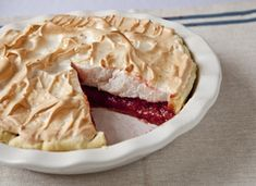 Cascadian Farm Strawberry Meringue Pie #12daysofpie