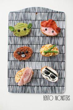 Star Wars baguette and bentonite box - so cute!