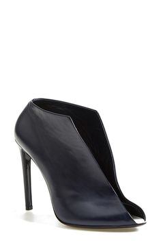 Balenciaga Leather Split Vamp Bootie - from @nordstrom #nordstrom