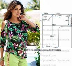 Простые выкройки блузок (Шитье и крой)   Журнал Вдохновение Рукодельницы