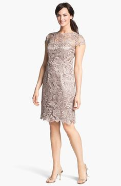 Patra Crocheted Venise Lace Sheath Dress available at #Nordstrom - but in another colour.