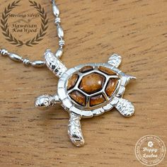 Sea turtles, known in Hawaii as honu represents longevity, safety and Mana (spiritual energy). The are consider the bearer of good luck and peace.