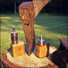 Mini mandcrafted wooden box mod.  #vapepics #vapepictures #vapeon #vape #modhandcheck #vape4you #vapeporn #vapelife #vapelyfe #vapenews #vapenation #vapestagram #mod #boxmod #woodboxmod #woodmod #18650 #18650mod #18500 #18500mod #ecig #epapieros #elektronicznepapierosy #vapepoland #warszawa #polska #poland #praga #pragapółnoc #pragapolnoc