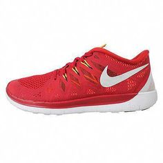 sports shoes a73cb 8131f Nike GS Big Kids Gym Red White Athletic Shoes Youth Size 5 for sale online