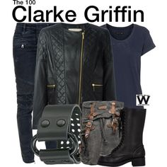 Inspired by Eliza Taylor as Clarke Griffin on The 100.