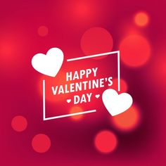 Blur background for valentines Free Vector