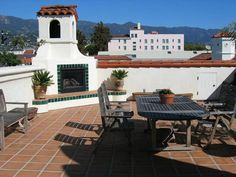 Santa Barbara Roof Terrace
