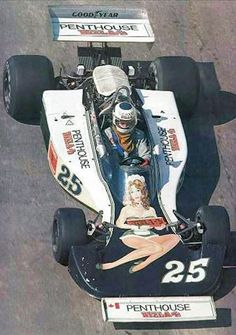 Legendary Livery: the Penthouse livery of the 1976 Hesketh 308D