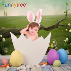 Funnytree background for photography easter egg spring wonderland tree grass backdrop photo studio photocall new-in Background from Consumer Electronics on Aliexpress.com | Alibaba Group