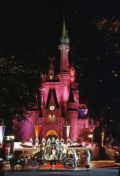 Disney Cinderella's Castle. Have to go back on the 50 Anniversary