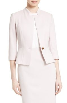 TED BAKER Illi Peplum Jacket. #tedbaker #cloth #