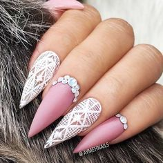 Cute Nail Designs with Soft Pink Shades for Princesses Picture 3