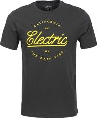 Electric Circle Script T-Shirt - black 2