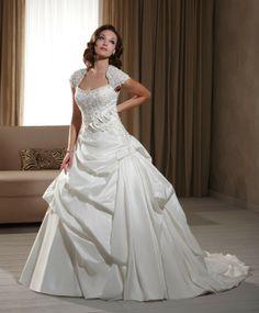 Robe de bal de mariage robe en taffetas