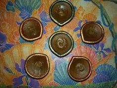 Homemade wax diyas..#DIY #DiwaliDecoration