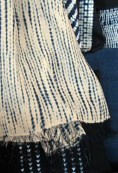 Shibori. post: Inspiration SS 2013-The Art of Blue Denim associations. via news in style, Netherlands
