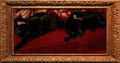 The Royal Cats  Thoth and Isis