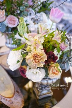 後院婚禮工作室 | Backyard Wedding Studio #波西米亞 #後院 #戶外 #婚禮 #設計 #佈置 #牧場 #花 #Bohemian #backyard #outdoor #wedding #design #decoration #pasture #flower #centerpiece