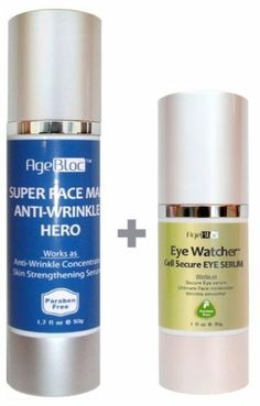 [Free Expedited Shipping] AgeBloc For Men Anti-Aging Face Kit Includes Super Face Man Anti-Wrinkle Hero(50ml/.... $54.00. AgeBloc For Men Anti-Aging Kit Includes Super Face Man Anti-Wrinkle Hero(50ml/$48) and Eye Watcher Cell Secure Eye Serum(30ml/$62). Free Shipping on Domestic Order! Free Gift Wrap! Made in USA. 1. Super Face Man Anti-Wrinkle Hero(50ml/$48) Works As Skin Strengthening Serum, Wrinkle Serum.. Paraben, Fragrance, Cruelty Free.. 2. Eye Watcher Cell Sec...